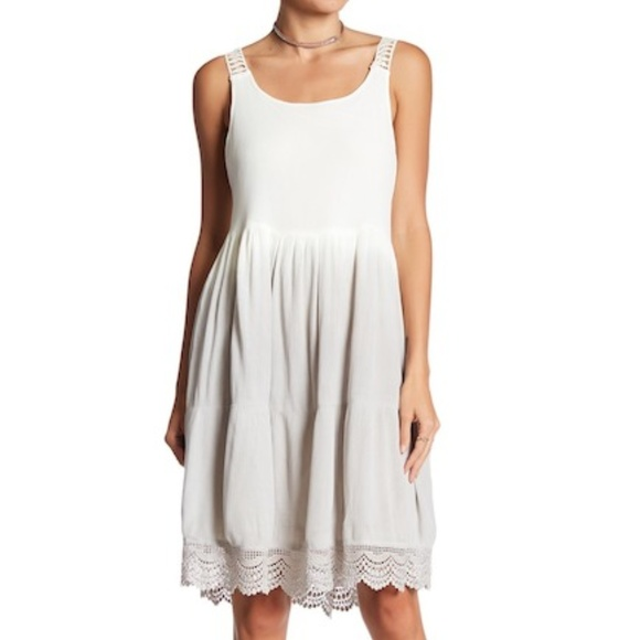 baab1437a949d Womens Dex Dip-Dye Peasant Dress Sz S Small   NWT